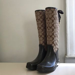 Coach Shoes - Coach Tristee rain boots